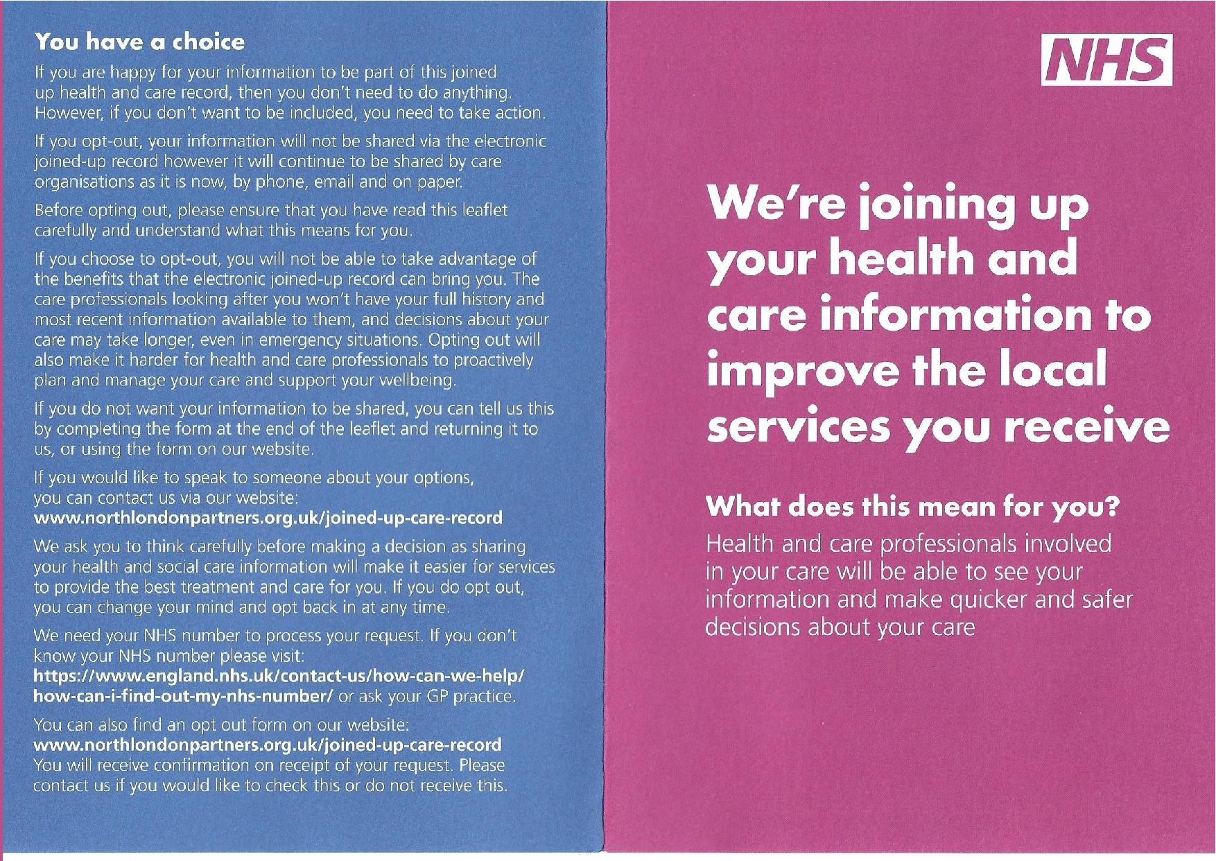 Joining up Health and Social Care Information 01